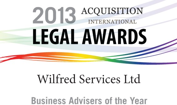 Wilfred Services Receives Award From Acquisition International